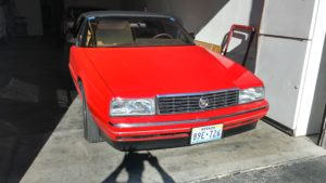 With Cadillac Allante Wanted To Position Itself On The Same Pedestal As European Luxury Car Makers Such Bmw Jaguar And Mercedes Benz